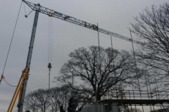 Self Erecting Tower Crane in London