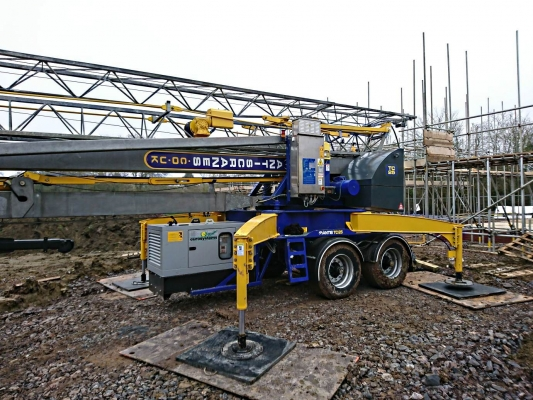 Mantis TC25 on site