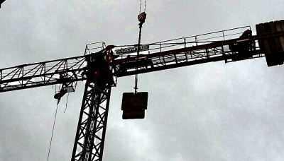 Pedestrian Operated Tower Crane in Kent