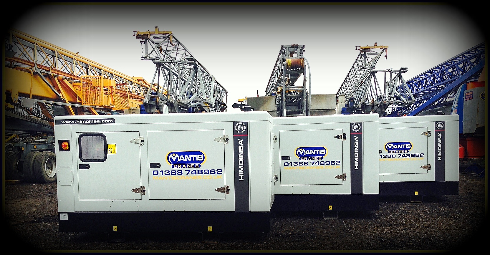 New Range of Generators available for sale/hire