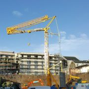 Potain T85A Tower Crane on site