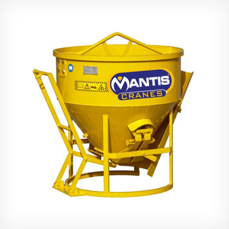 Conical Concrete Bucket