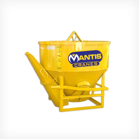 Concrete Bucket with Central and Side Loading