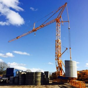 Potain T85 Self Erecting Tower Crane