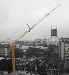 Using a Self Erecting Tower Crane in Windy Conditions
