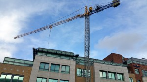 City Tower Crane Hire on an Office Project