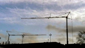Pedestrian Operated Tower Cranes on a Sports and Leisure Project