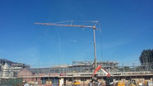 Potain HDT80 Self Erecting Tower Crane in Leamington Spa