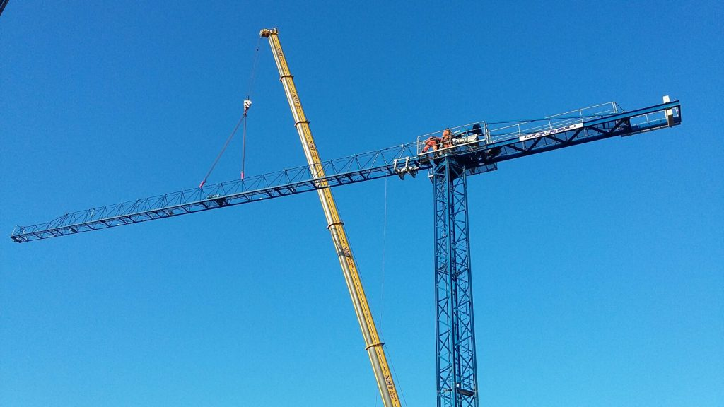 Tower Crane in Surrey
