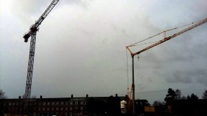 Self Erecting Cranes in Lancashire