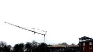 Tower Crane at Alton Towers Hotel