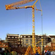 Potain T85 Self Erecting Tower Crane in Swansea