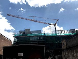 Brixton Crane Hire Project