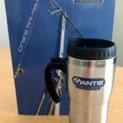 Mantis Cranes Travel Mugs