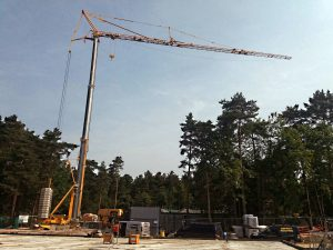 Crane on a Centre Parcs Project
