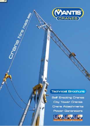 Mantis Cranes Technical Brochure