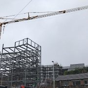Self Erecting Tower Crane in Swansea