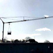 Self Erecting Tower Crane on a Kendal Construction Project
