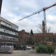 Tower Crane Hire at Birmingham University