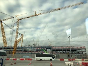 First Self-Erecting Tower Crane Installed at Hinkley Point C